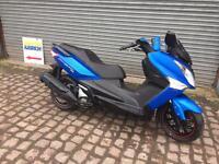 Sym Joymax 300, Maxi scooter, 2016, Blue, 1 owner