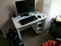 Office desk - ikea brusali