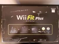 New Wii black console Wii Fit Plus with games (NEW)