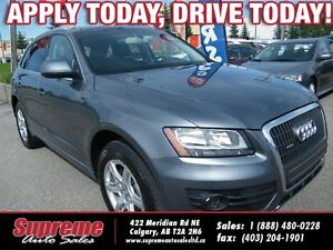2012 Audi Q5 PREMIUM w/ROOF & LEATHER