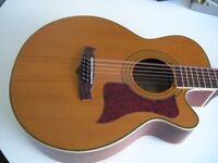 TANGLEWOOD TW145 12 STRING ELECTRO ACOUSTIC GUITAR-MANCHESTER