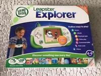 Leapfrog Leapster Explorer with 2 games