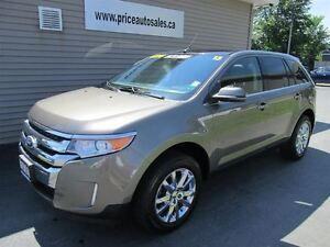 2013 Ford Edge LIMITED-NAVI-HEATED LEATHER SEATS-FULL GLASS ROOF