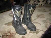 Frank Thomas Gortex Motor cycle boots
