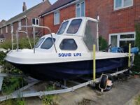 2012 17ft Wilson Flyer pleasure or fishing boat for sale