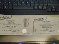 Steel Panther - London 22nd January 2018 - 2 tickets stalls standing