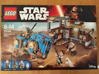 New in box Kids toy Lego Star Wars 75148 encounter on Jakku 8-14