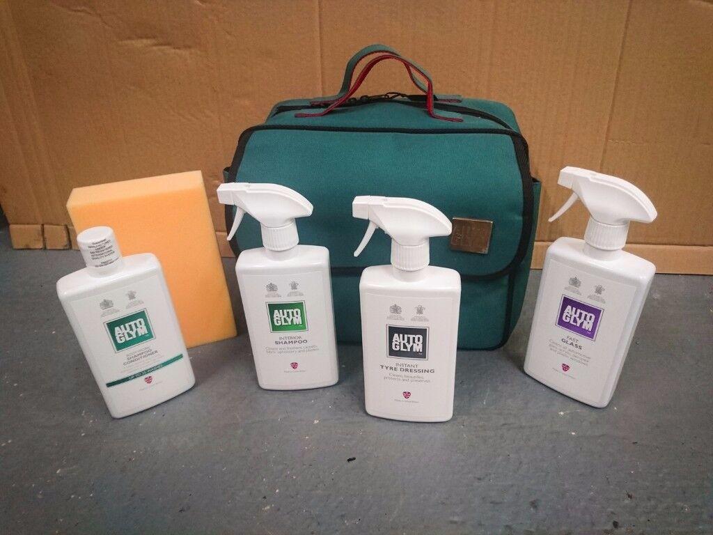 Autoglym & Supagard kit bags (not Meguiars)