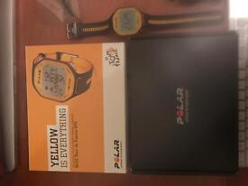 NEW POLAR WATCH TOUR DE FRANCE GPS YELLOW GPS - ANY OFFERS WELCOME!!