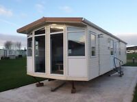 2003 Omar Hilton static caravan for sale at Chesterfield Country Park in Berwickshire
