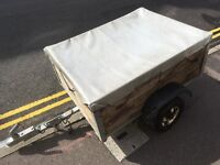 Indespension Gracecourt 4x3 trailer with cover