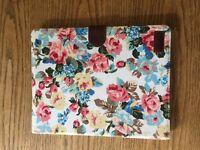 Floral vintage iPad case