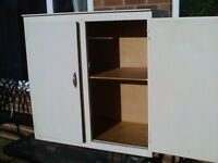 Cupboard for storage in Garage or workshop. free standing or fix to a wall