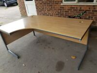 Free desk in good condition