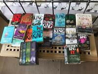Stephen King books x 21