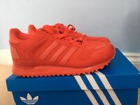 Womens red adidas size 3.5