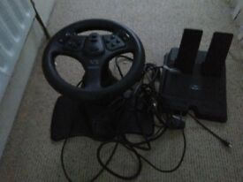 PlayStation V3 Interact Steering Wheel