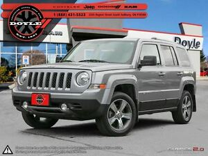2016 Jeep Patriot HIGH ALTITUDE 4WD 1-OWNER TRADE-IN!