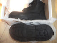 Brand new safety boots steel toe caps