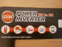 Power adapter DC to AC.