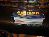 Batman Automobila Collection. 51 Cars/Boats/Bikes/Aeroplanes