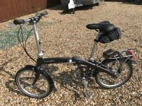 Dahon Mu XL Folding cycle. Very Superior bike - do not confuse with cheapies!! for sale  Haverfordwest, Pembrokeshire