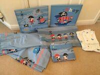 Children's NEXT Pirate Bedroom Set