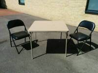 Garden Table and Chairs (2x)