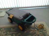 Garden Caddy/seat with tool compartment