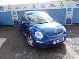 PART X DIRECT OFFERS THIS STUNNING VW BEETLE LUNA 1.6 WITH NEW MOT +SERVICE+WARRANTY ,FINANCE ME !!