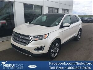 2016 Ford Edge Titanium FULLY LOADED! $258.38 b/weekly.