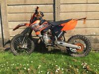 2007 Ktm sx85 ROAD REGISTERED legal 11 months MOT LOG BOOK V5 sx 85 mx crosser not 125 motocross