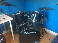 Full size adult drum kit