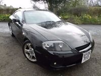 2006 HYUNDAI COUPE 2.0 - 3DR - 12 MONTHS MOT - SERVICE HISTORY -DRIVES PERFECT -ALLOYS -FULL LEATHER