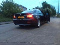 BMW 520d BLACK COLOR + FULL BLACK LEATHER interior + ALLOY Wheels. Stunning!