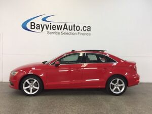 2015 Audi A3 KOMFORT- TDI|AUTO|PANOROOF|LEATHER!