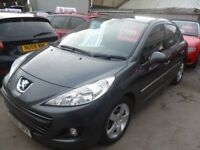 Peugeot 207 Sport HDI 92,5 dr hatchback,1 previous owner,full MOT,runs and drives nicely,£30 yr tax