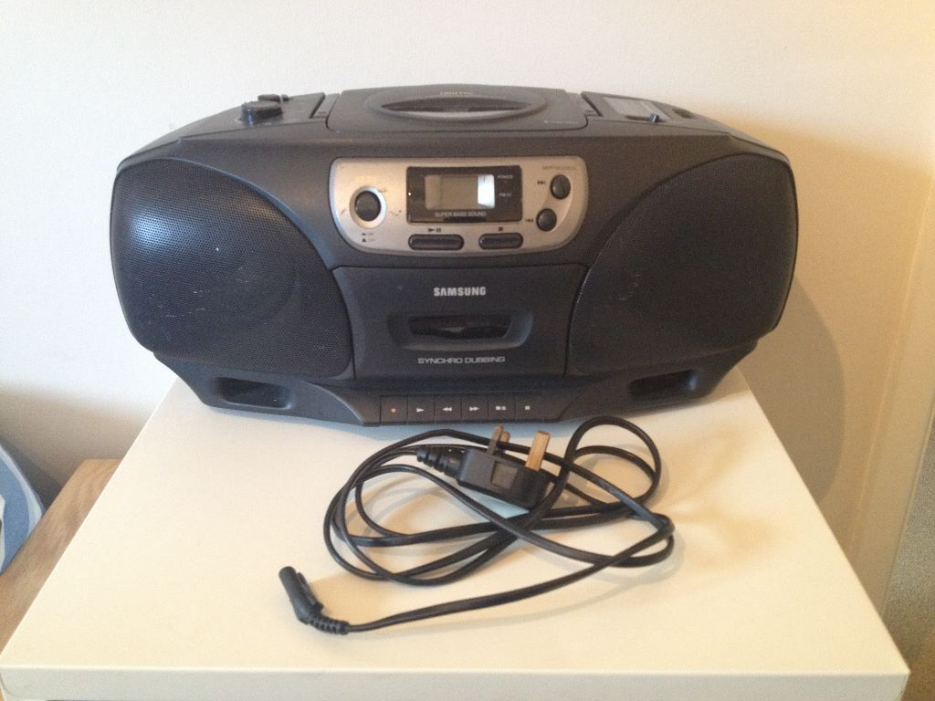 samsung rcd 750 cd player cassette radio boombox in oadby leicestershire gumtree. Black Bedroom Furniture Sets. Home Design Ideas