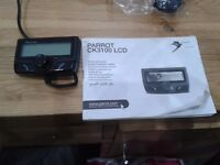 Parrot CK3100 LCD Hands Free Wireless Phone Kit -with new Sony Mic