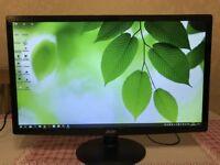 Acer S240HL 24 Inch Widescreen LED Mercury Free HD LCD Monitor, HDMI, DVI, VGA