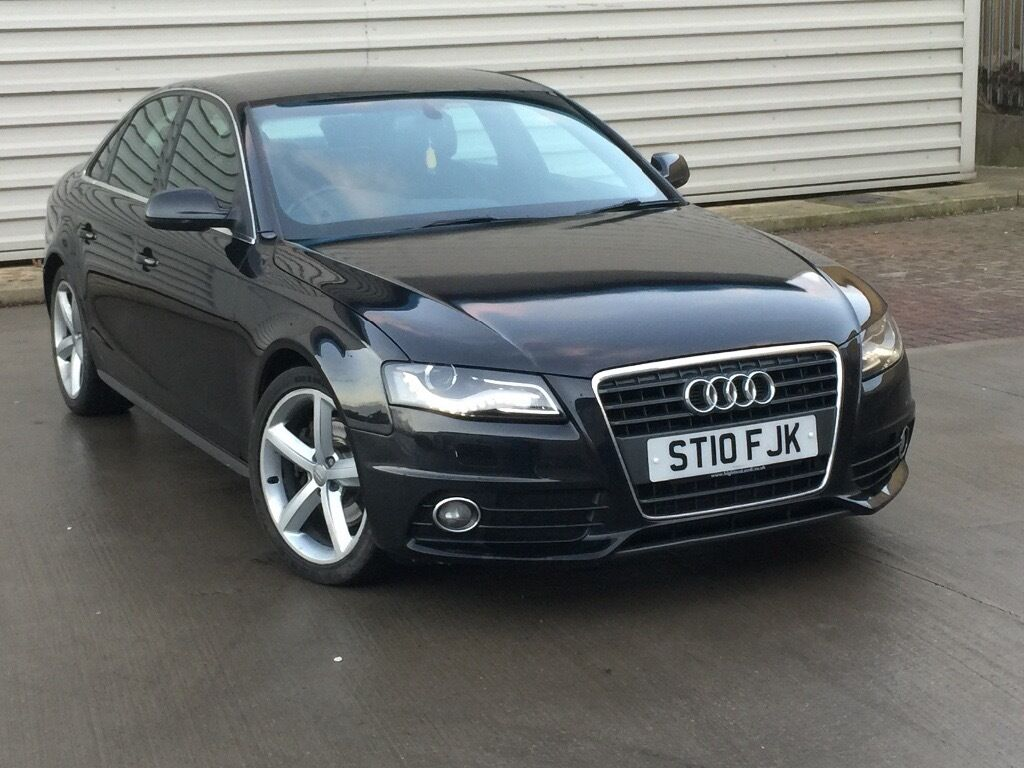 2010 audi a4 b8 2 0 tdi s line auto multi tronic vw golf. Black Bedroom Furniture Sets. Home Design Ideas