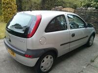 Vauxhall Corsa C 1.0 12V Comfort, 3 dr model, Star Silver - **** BREAKING FOR SPARES ****