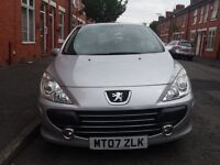 2007 Peugeot 307 1.6 16v S Tiptronic Automatic 5 Door,very Low mileage 36000