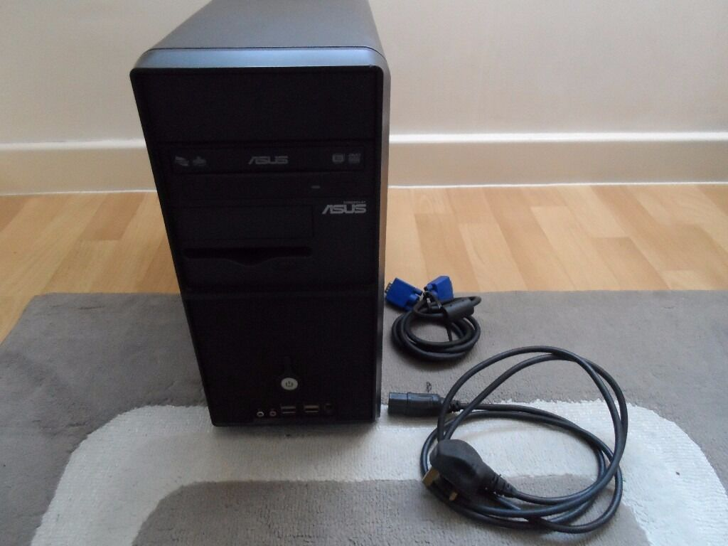 ASUS Desktop PC( Pentium 4 HT 3.2 GHz, 2Gb Ram,160 Gb HDD, GeForce 6700 XL, DVD Writer, Wi Fiin Southampton, HampshireGumtree - ASUS Vintage PH1 barebone computer. This is an older pc but works perfectly. In good cosmetic condition. Comes with power cable and vga cable. ASUS PC case, ASUS motherboard, ASUS PSU, ASUS DVD writer. 160 Gb HDD 2 Gb Ram GeForce 6700 XL graphics...