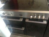 Belling Range electric ceramic cooker.,,90cm Mint free Delivery