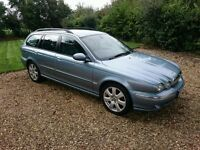 54 Jaguar X-Type Estate 3.0 AWD 4X4, Full Leather seat, Great Bargains, Test Drive Welcome.