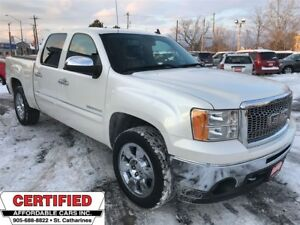 2011 GMC Sierra 1500 **SLT DIAMOND WHITE, 4X4, SUNRF, HTD LEATH*