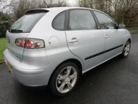 2005 SEAT IBIZA 1.9 TDI SPORT FR TURBO DIESEL ### 41000 MILES ### 41000 MILES ### 41000 MILES ###