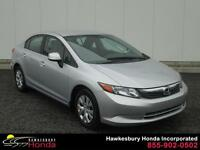 Honda Civic Sdn LX 2012 ONE OWNER