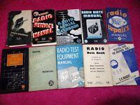 Vintage Bernard`s Radio books